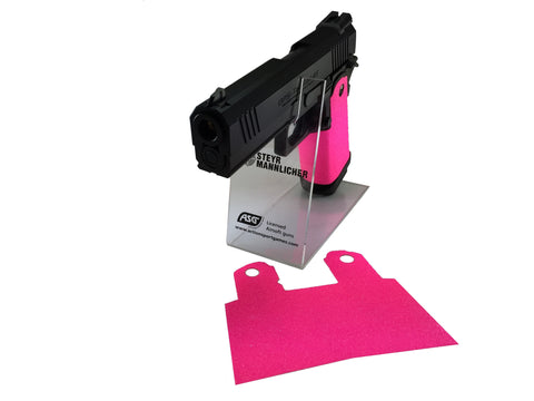 GBBCustom 5.1 Hi-Capa Shooter Ready Grip Tape (Hot Pink) For 2011/HI-CAPA Airsoft Pistols