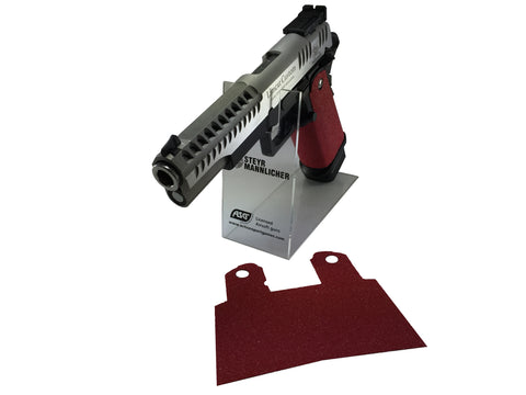 GBBCustom 5.1 Hi-Capa Shooter Ready Grip Tape (Fire Red) For 2011/HI-CAPA Airsoft Pistols