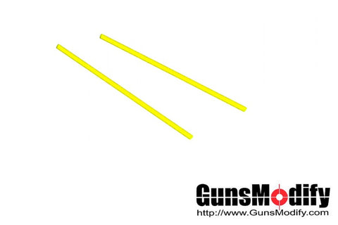 Guns Modify 1.0mm Fiber Optic Rod for Gun Sight (Yellow)