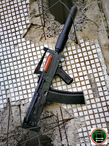 GBB Hungary OTs-14 [Groza] Bull-Pup GBBR Conversion Kit For WE/WELL AK74UN