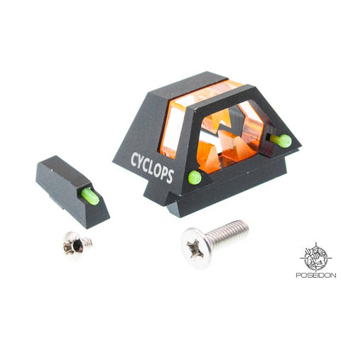 Poseidon PI-011 CYCLOPS Universal Front and Rear Sights for G-Series