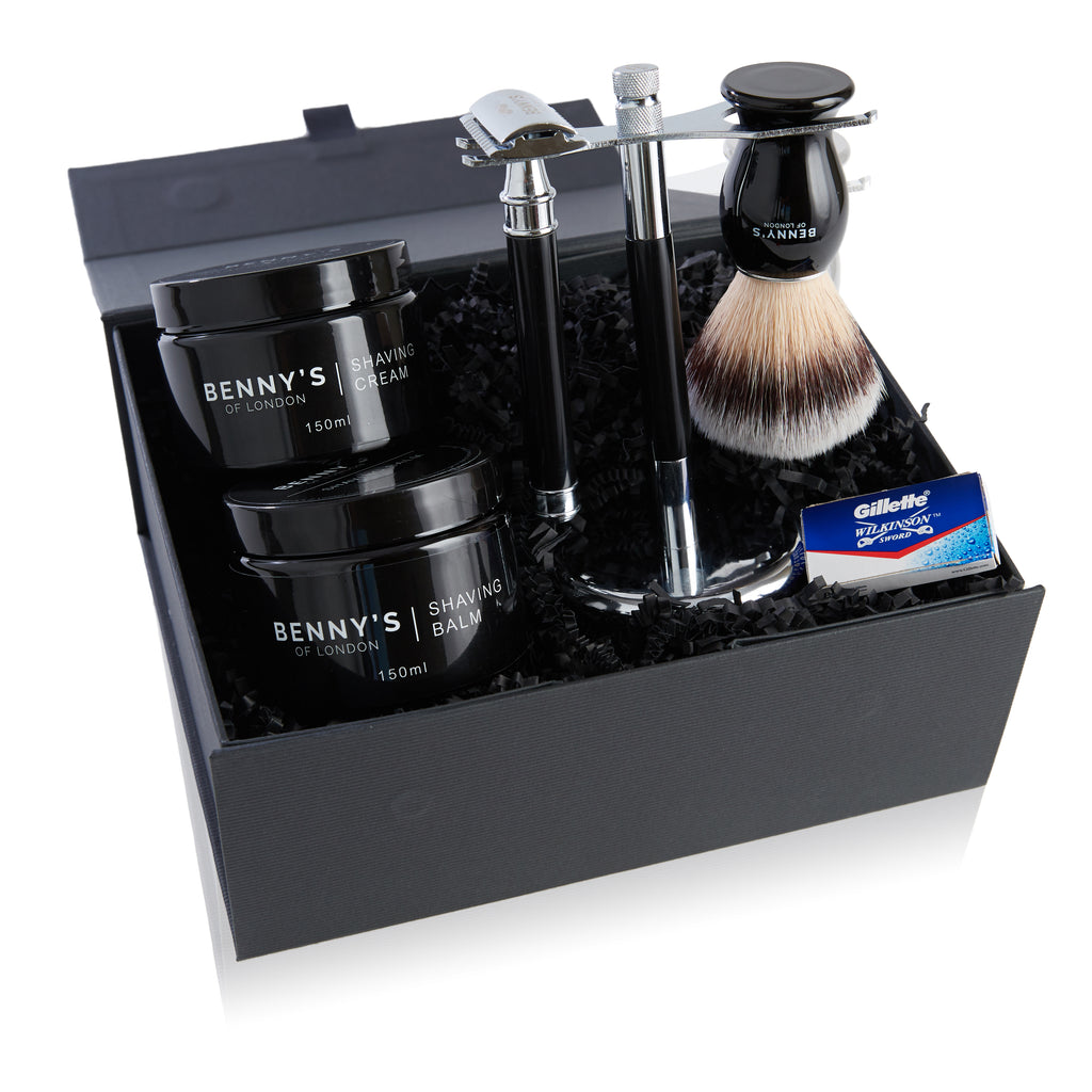 THE ULTIMATE SHAVING SET - Benny's Of London - bennys of london