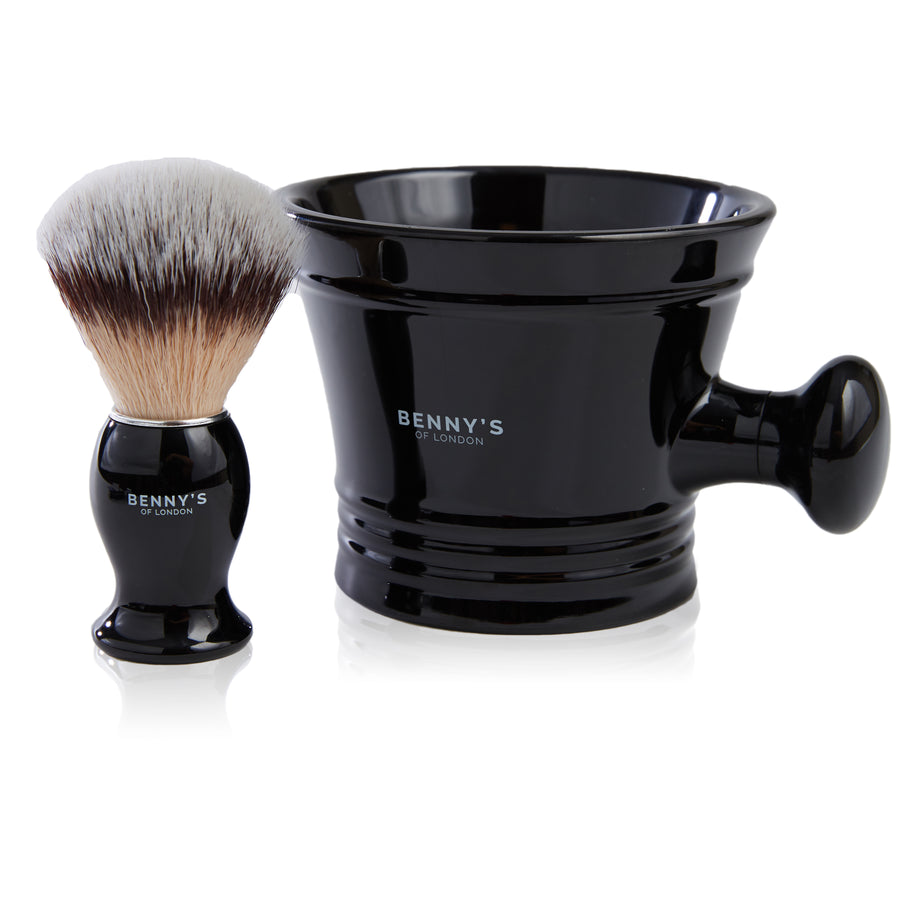 SHAVING BRUSH & BOWL GIFT SET – Benny's of London - bennys of london