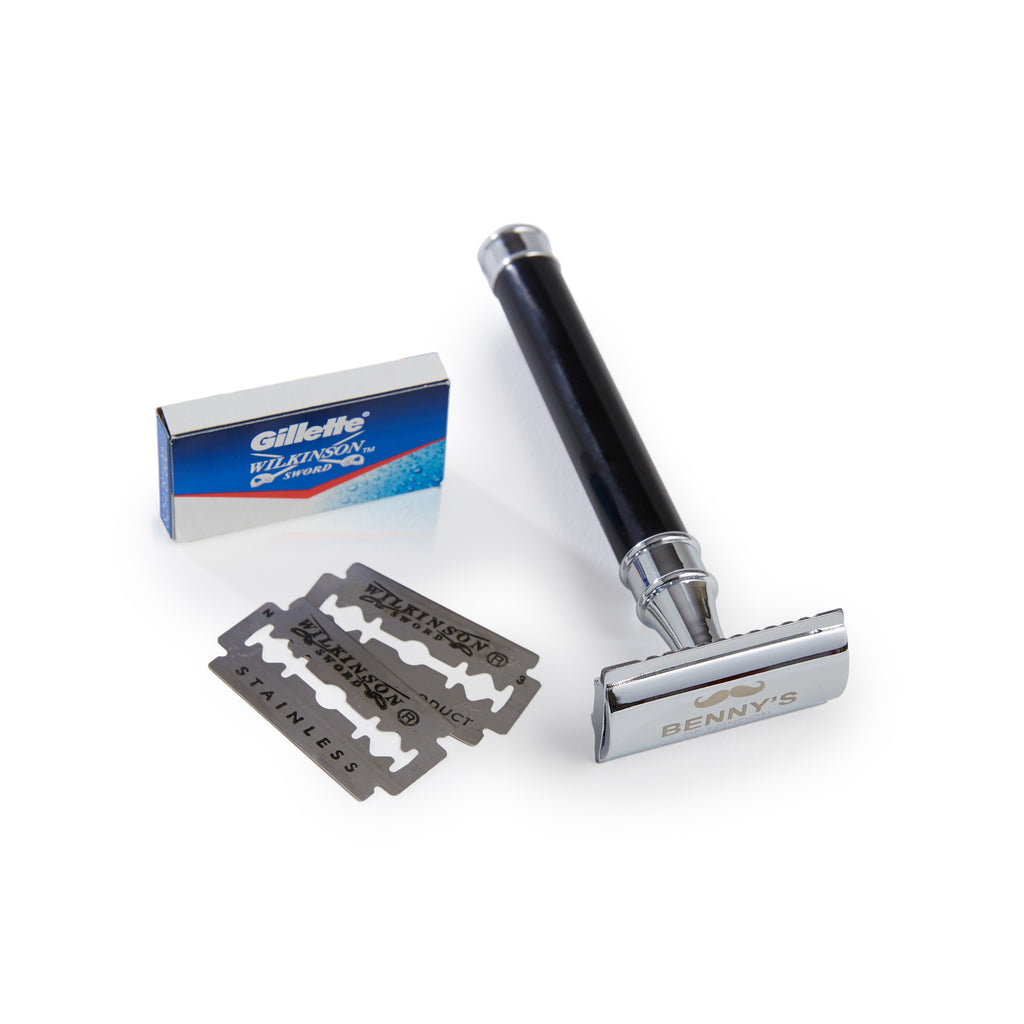 DOUBLE EDGE SAFETY RAZOR - Benny's of London - bennys of london