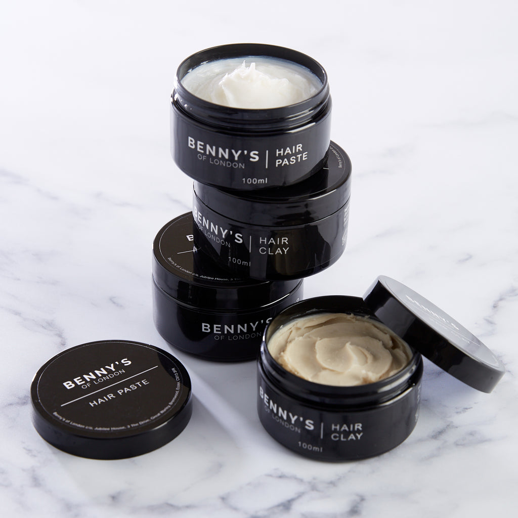 MATTE HAIR CLAY & PASTE SET - Benny's of London - bennys of london