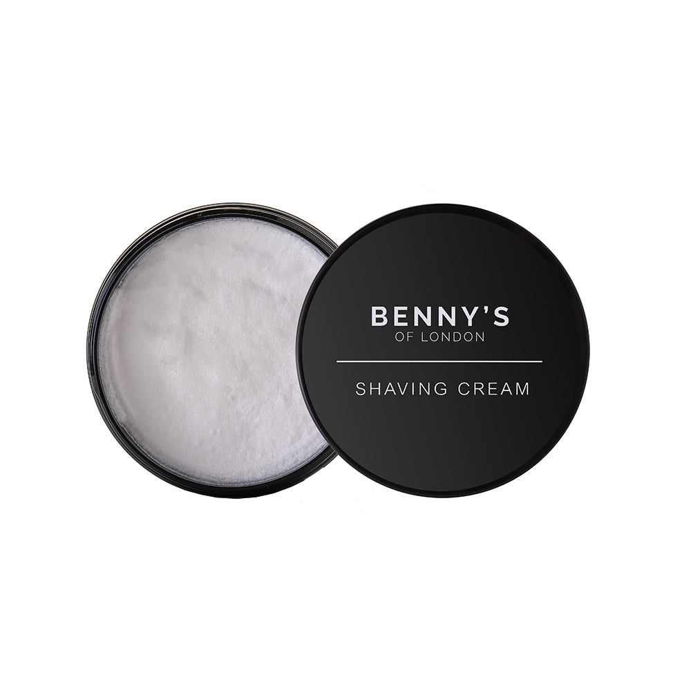 SHAVING CREAM - Benny's of London - Pomegranate Noir Shaving Cream - 150ml - bennys of london