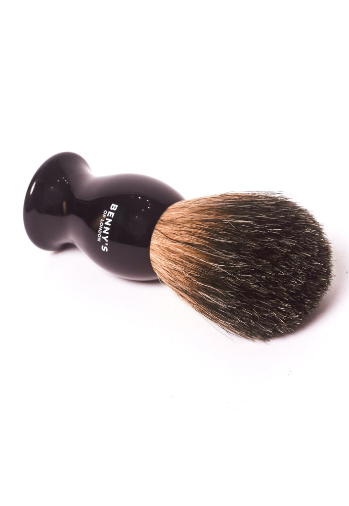 BADGER HAIR SHAVING BRUSH - Benny's of London - bennys of london