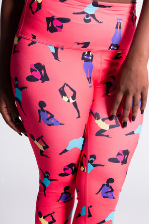 Squat-Proof Legging (Coral)