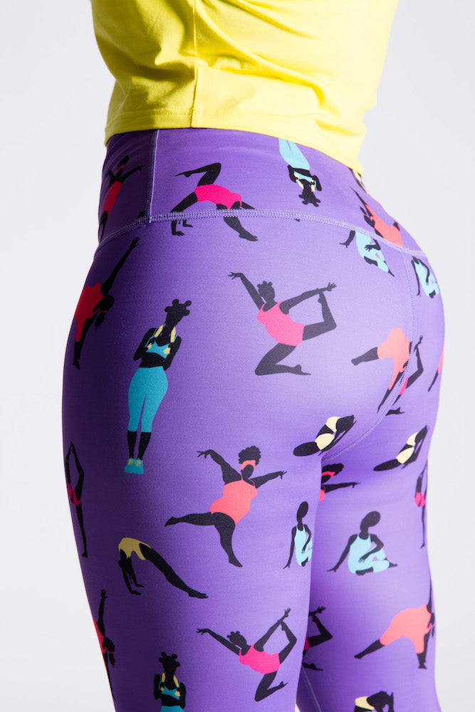 Squat-Proof Legging (Purple)