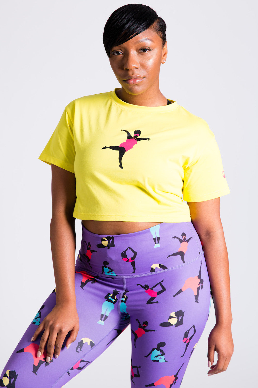 Bold Crop Top (Yellow)