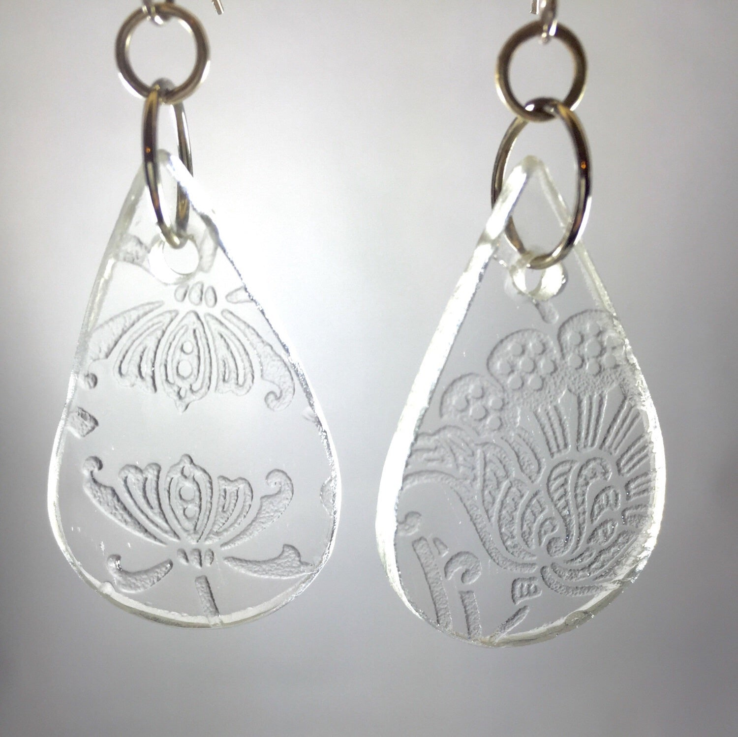 Christmas gift ideas- Depression glass earrings