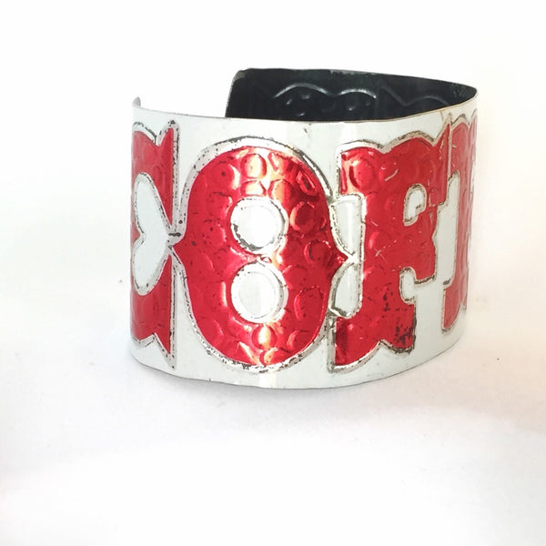 recycled tin coffee can