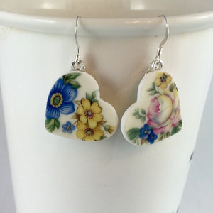 Broken China jewelry  - handmade gift ideas