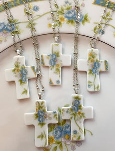 Rustic wedding jewelry - Broke china jewelry
