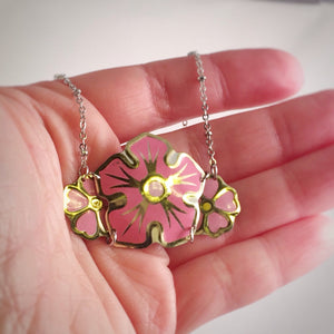 recycled tin can necklace - Mother's Day gift ideas