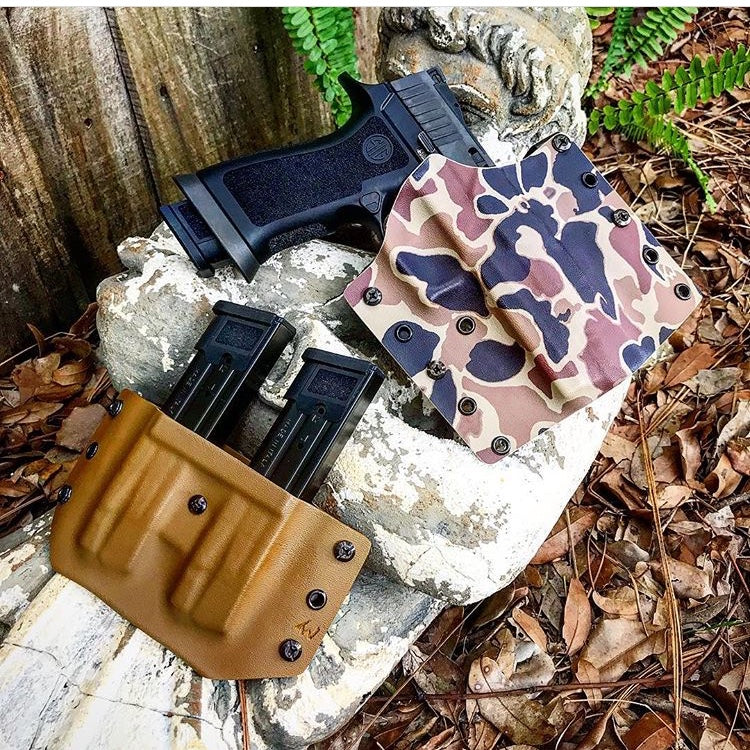 Holster Warrior  OWB - Graphic Color Kydex- LEFT HANDED