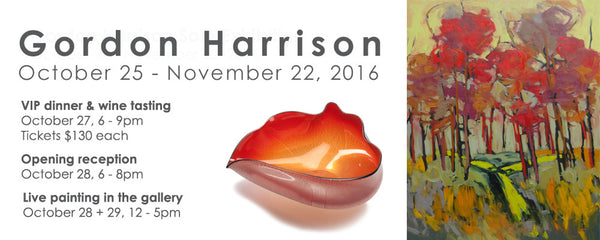 Gordon Harrison Solo Exhibition