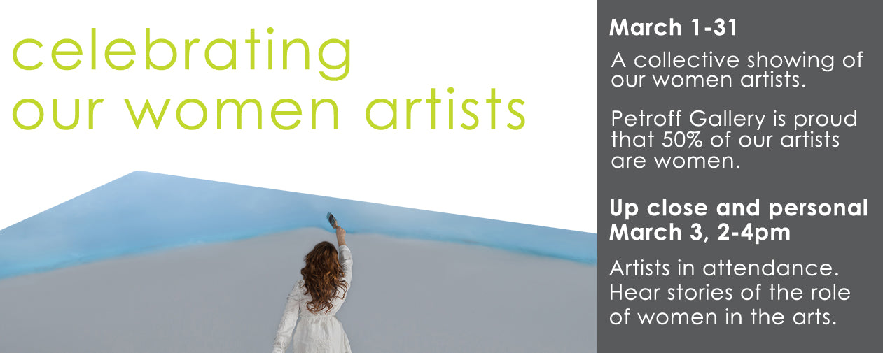 celebrating our women artist banner
