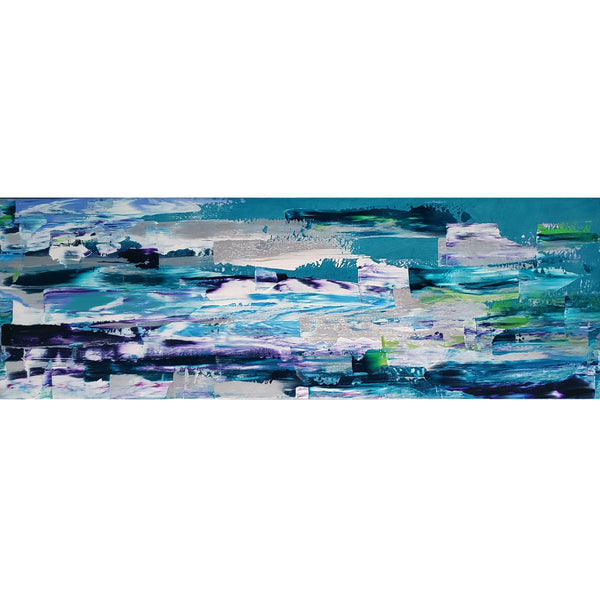 Kate Taylor - Frozen Beaches 12 x 36