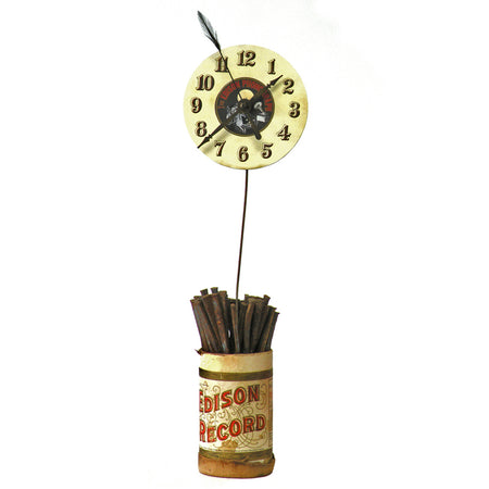 Clock With Spoons 4853