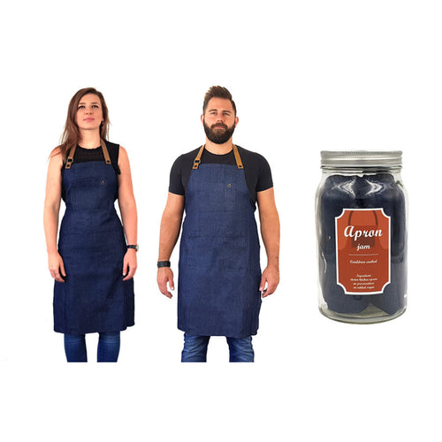 David Shaw Designs - Apron in a jar