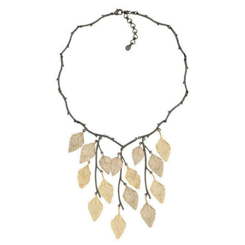 "Michael Michaud - Autumn Birch 18"" Necklace"