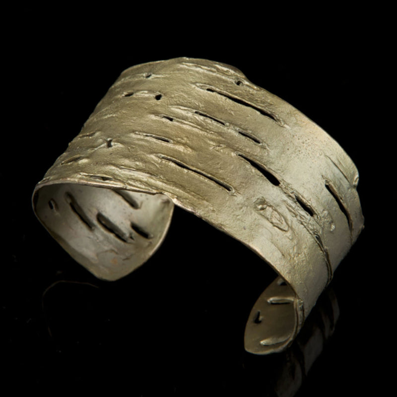 Michael Michaud - Birch Bark Cuff Bracelet