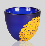 Alexi & Mariel Hunter - Frit Bowl cobalt & Orange