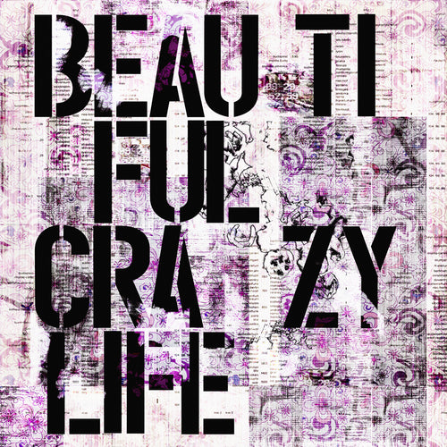 "Suzi Roher - Beautiful Crazy Life 39"" x 39"""