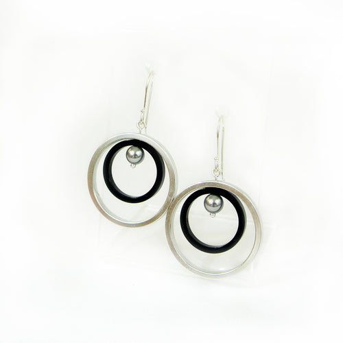 Dabbah Silver & Color - Earrings silver