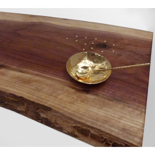 Debra Braun - Med Bread Board with dish