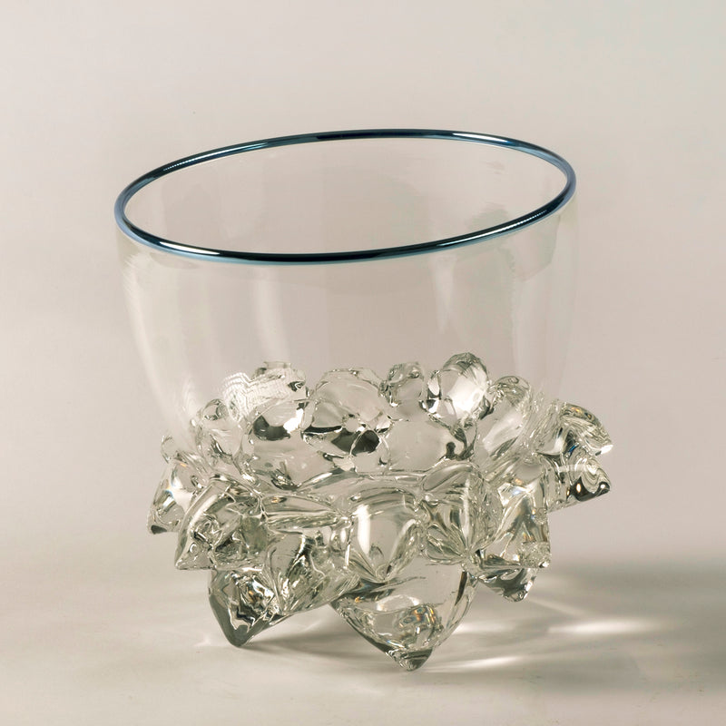 "Andrew Madvin - 7"" Thorn Vessel Crystal Clear"