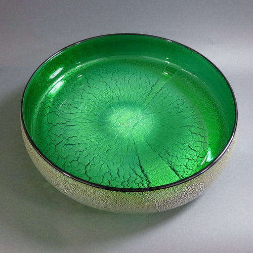 David Thai - Round Wave Bowl Green
