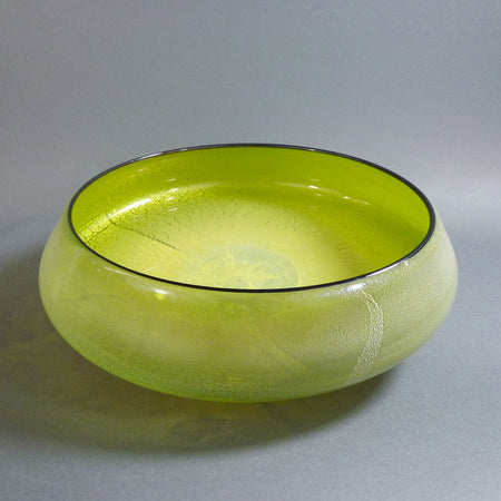 "Wave Bowl 17"" Sea Green"