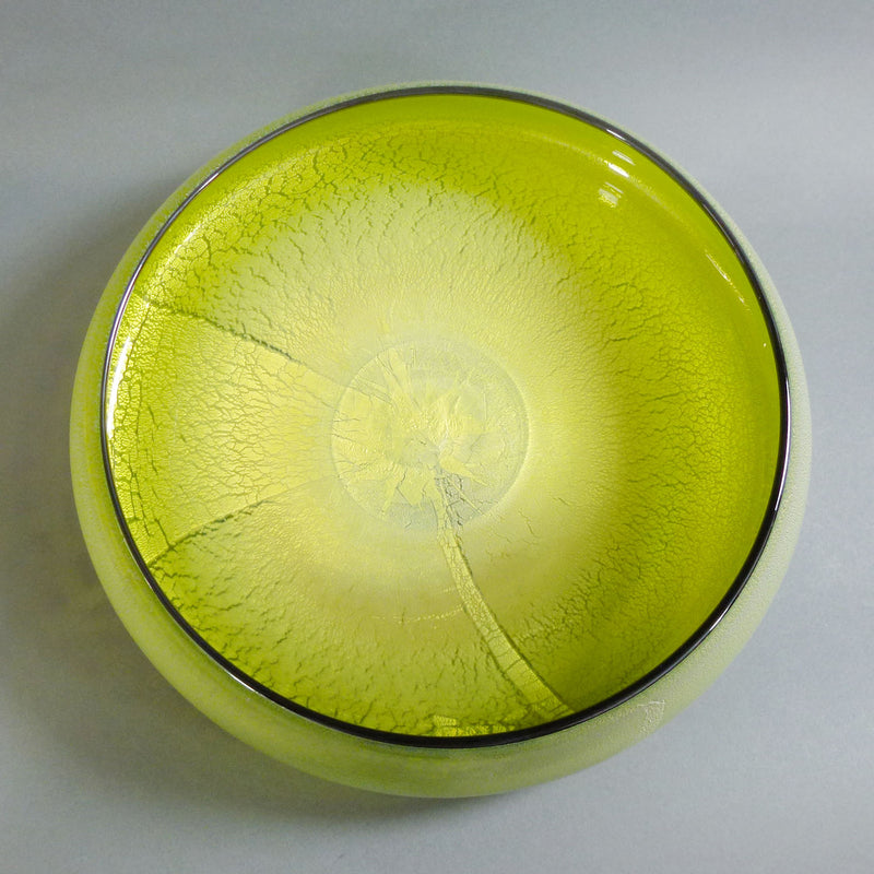 David Thai - Round Wave Bowl Lime