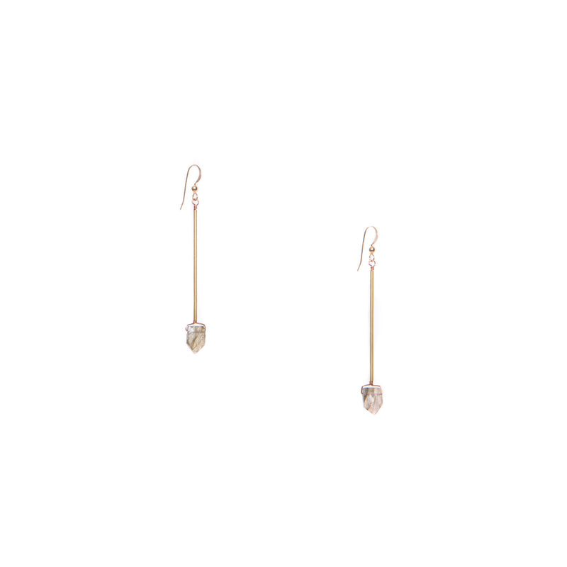 Hailey Gerrits- reed earrings
