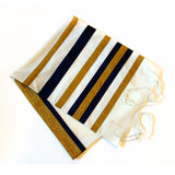 Desiree Farkas - Gold & Royal Blue Tallit