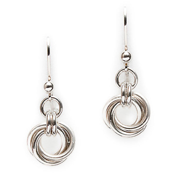 Lisa Ridout - Lg Love Knot Earrings