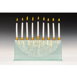 Alicia & Beatriz Keleman - Menorah Half Moon Clear