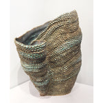 Kim Ross - Lg Sea Green Coil Vase