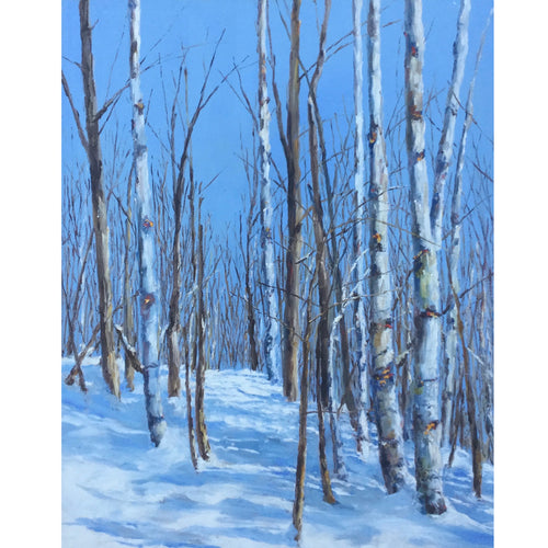 Jamie MacLean - A Crisp Winter Day 30x24