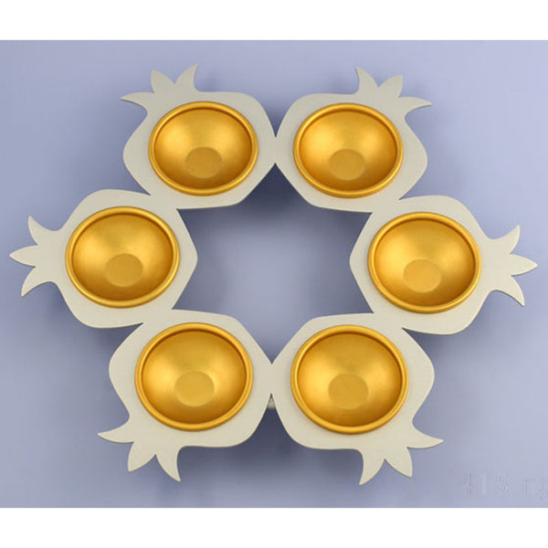Seder Plate Gold
