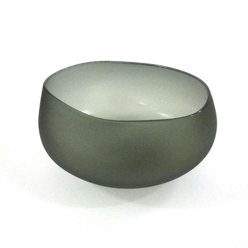 Jeff Goodman Studio - Neutral Grey Topography Bowl