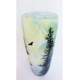 Carol Nesbitt - Forest Vase White/Blue/Green