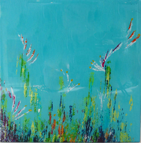 "Tranquil Walking 24"" x 6"""
