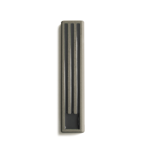 Marit Meisler - Cement Mezuzah Long Stripes