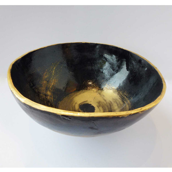 Marla Buck - Japanese Salad Bowl - Black