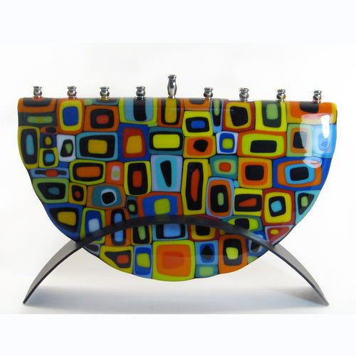 Marie Levine - Matrix menorah large