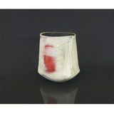 Lesley McInally - Lg Maroon/Grey/White Vessel