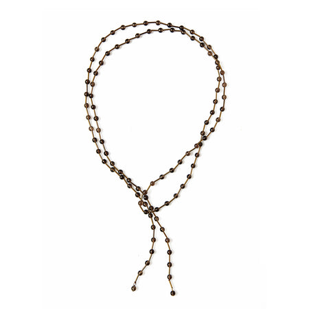 Liliam Silver Pearl Necklace